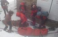 У Карпатах рятувальники розпочали евакуацію туристів з гори Піп Іван