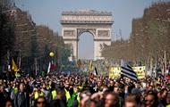 Во Франции прошла новая волна протестов