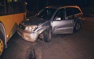 ДТП в Киеве: у водителя за рулем случился инсульт