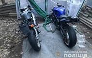 В Киеве задержали угонщиков мотоциклов