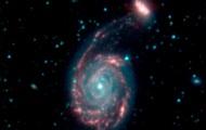 Телескоп запечатлел гибельное слияние галактик