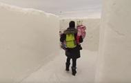 В Канаде создан крупнейший в мире снежный лабиринт