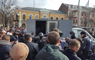На митинге в Полтаве задержали активистов – СМИ