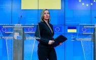 Евросоюз не признает аннексию Крыма - Могерини