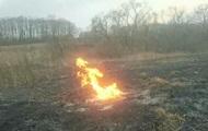 В Тернопольской области загорелся газопровод