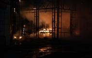 В Киеве на рынке сгорели магазин и кофейня