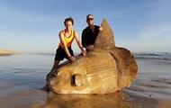 В Австралии рыбаки нашли гигантскую солнечную рыбу