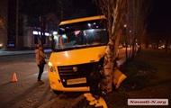 В Николаеве водитель маршрутки потерял сознание за рулем