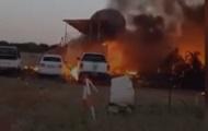 В Ботсване мужчина угнал самолет и протаранил свой дом