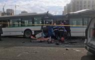 В Казахстане столкнулись три автобуса, есть жертвы