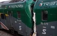Два поезда столкнулись в Италии