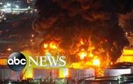 В США горит химзавод - СМИ