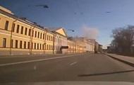 Момент взрыва в петербургской военной академии попал на видео