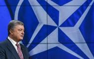 Порошенко подписал программу партнерства с НАТО