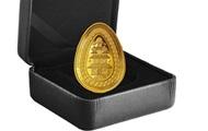 В Канаде выпустили золотую монету в форме украинской писанки - Real estate