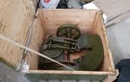 На Донбассе полиция изъяла пулемет Максима