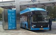 В трех городах Украины тестируют электробусы