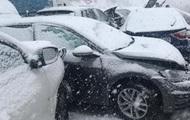 Снежное ДТП в Испании: столкнулись более 50 авто