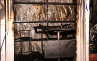 В Киеве горели торговые павильоны
