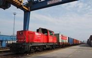 Через Украину запущен новый контейнерный поезд в Китай