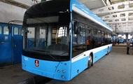 В Виннице депо достраивает собственный троллейбус