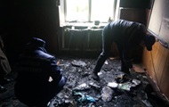 В Очакове перед началом уроков подожгли школу