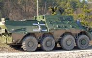 В Украине создали командирский БТР с дронами