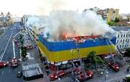 Історичні пам'ятки України, пошкоджені вогнем
