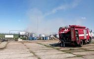 В Николаевской области горел нефтеперерабатывающий завод