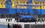 На НСК Олімпійський розібрали одну зі сцен