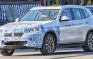 В Мюнхене сняли электрический SUV BMW