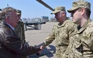 Министр обороны Дании посетил Донбасс