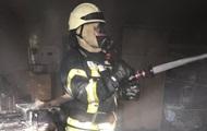 В Киеве произошел пожар в здании Минобразования