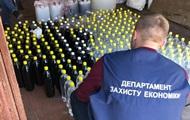 В Житомирской области нашли две тонны контрафактного алкоголя