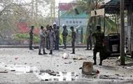 На Шри-Ланке произошла серия взрывов