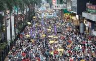 В Гонконге прошла масштабная акция протеста