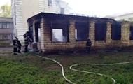 В Днепропетровской области горела школа