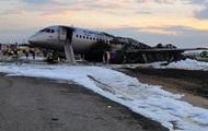 Названы версии аварии самолета в Шереметьево