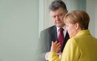 Порошенко попросил Меркель усилить давление на РФ