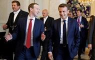 Цукерберг и Макрон обсудили безопасность в интернете