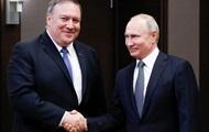 Путин и Помпео общались полтора часа