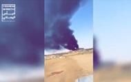 Появилось видео последствий атаки БПЛА в Саудовской Аравии