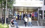 В Киеве неизвестные заблокировали здание квалификационной комиссии судей