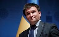 Климкин поздравил Зеленского с началом президенства