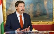 Президента Венгрии обнадежила встреча с Зеленским