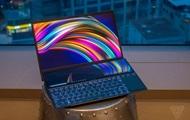 ASUS представила ноутбук с двумя сенсорными экранами