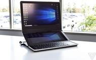 Intel показала игровой ноутбук с двумя экранами