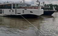 Капитан судна, столнувшегося с катером на Дунае, оказался украинцем