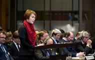 Зеркаль выступила в суде ООН по спору с Россией
