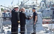 Украина обсудила развитие флота с США